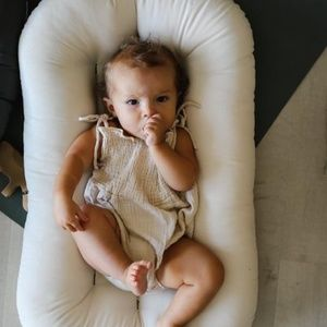 Snuggle Me Organic Wool Infant Lounger